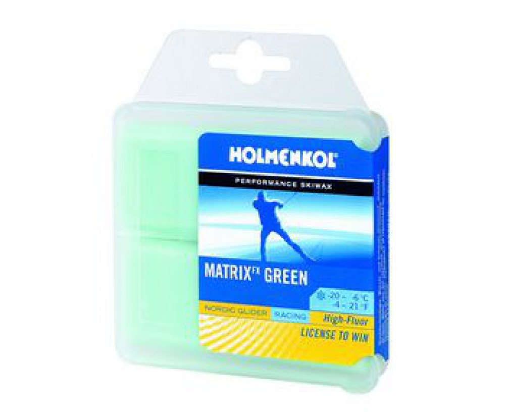 Парафин Holmenkol NG Matrix green (2x35 гр)