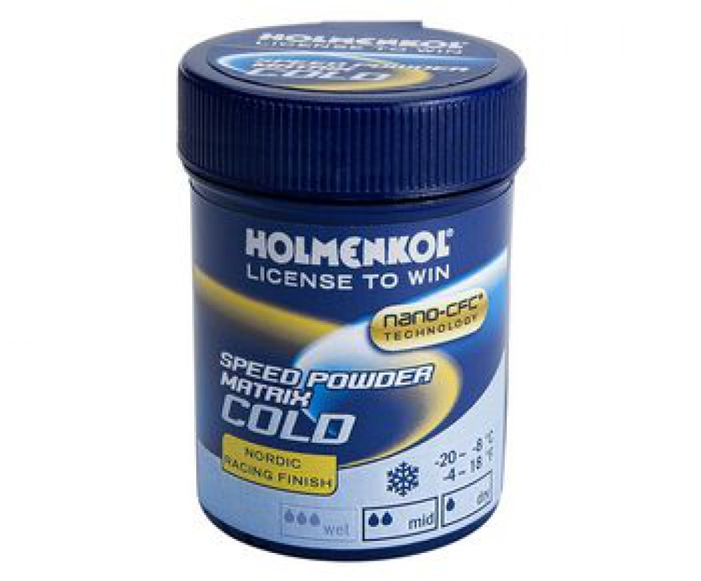 Порошок Holmenkol Matrix SpeedPowder Cold (30 гр)