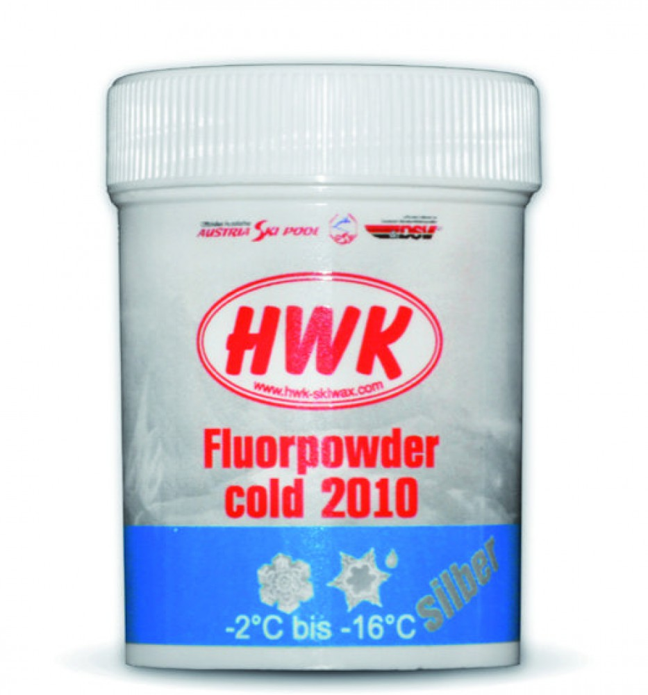Порошок HWK Fluor Powder cold 2010 silver (30гр.)