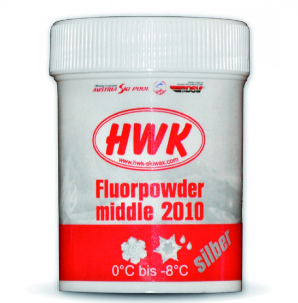 Порошок HWK Fluor Powder middle 2010 silver (30гр)
