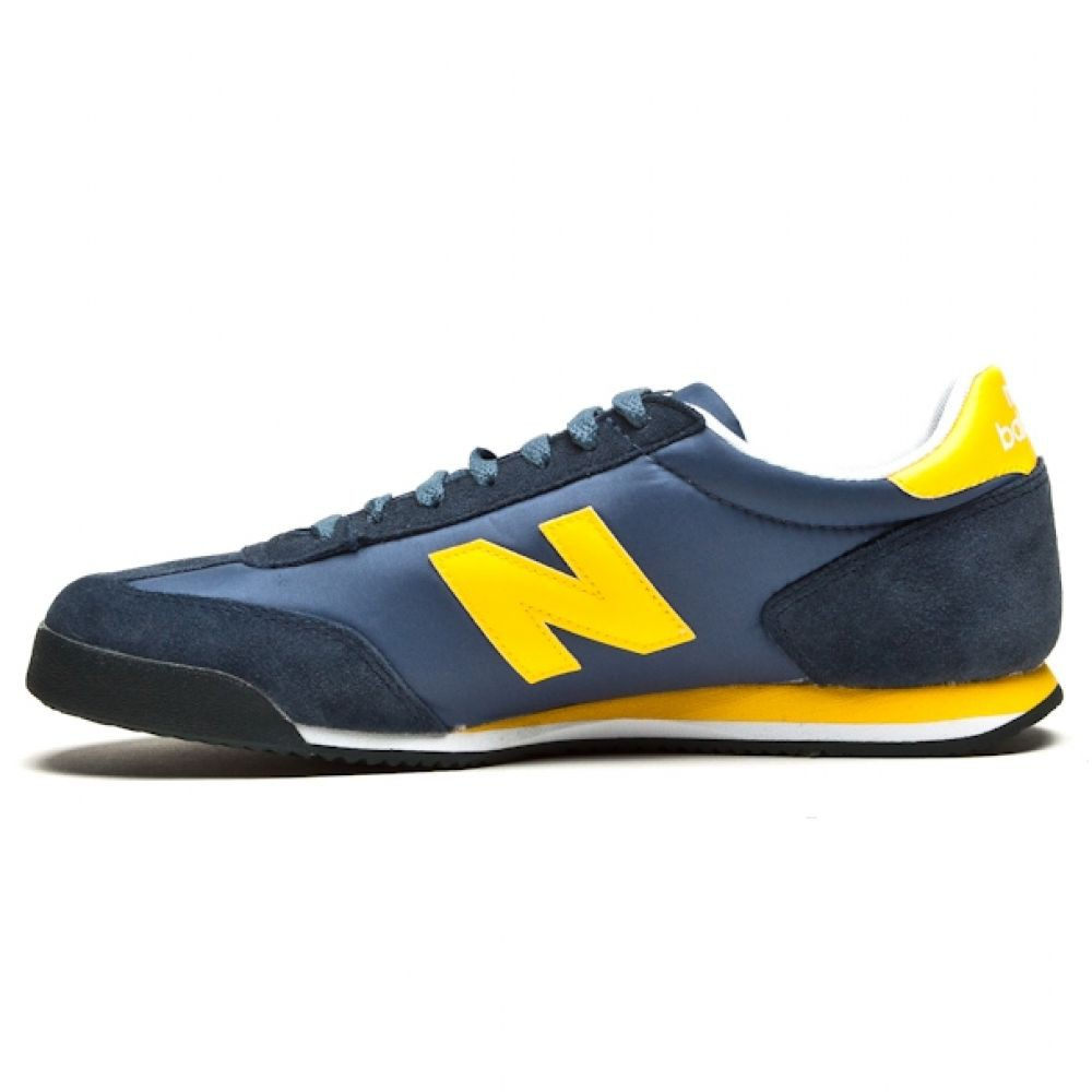 Кроссовки New Balance Navy/Yellow