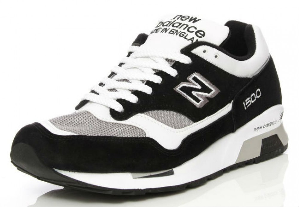 Кроссовки New Balance Black/GreyWhite