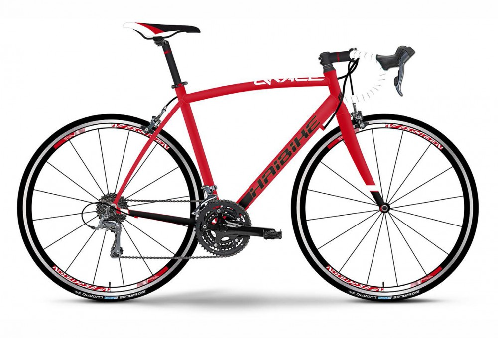 Велосипед HAIBIKE Q Race SL 28 red/white