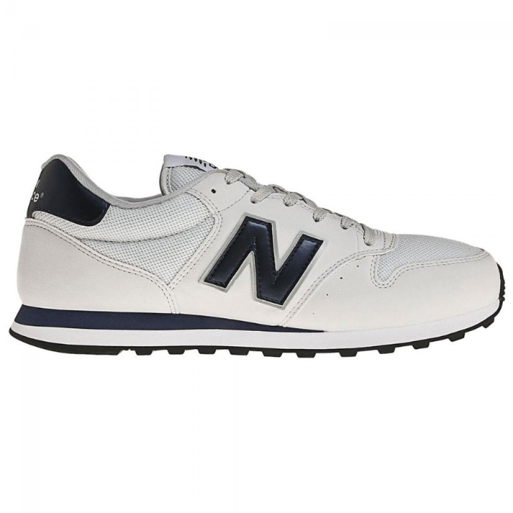 Кроссовки New Balance White/Navy