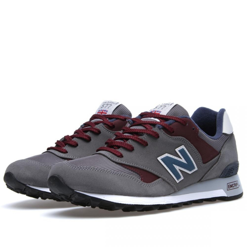 Кроссовки New Balance Grey/Burg/Navy