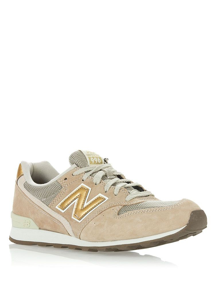 Кроссовки New Balance Beige/Gold