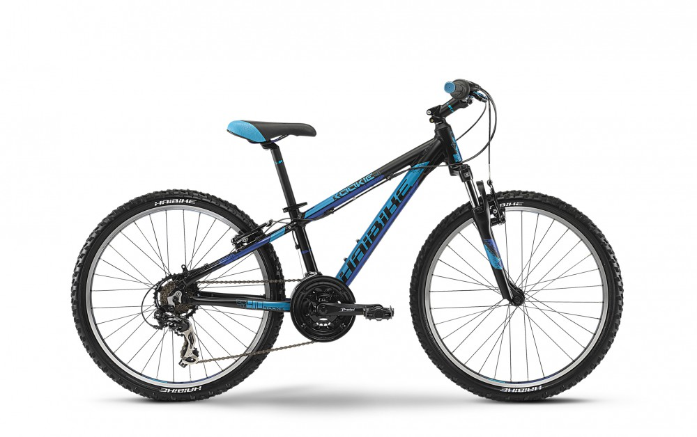 Велосипед HAIBIKE Rookie 4.10 24 black/blue matt