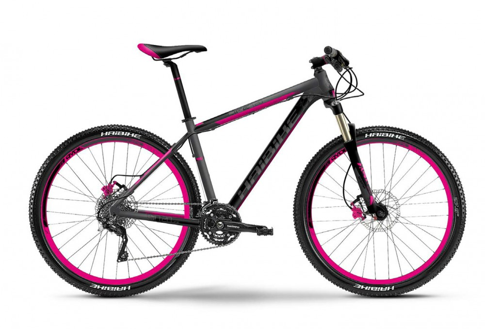 Велосипед HAIBIKE Life 7.20 27,5 grey/black/pink matt